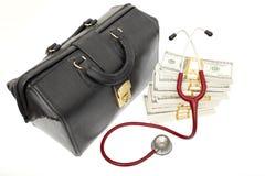 Coût élevé de soins de santé Photos libres de droits