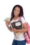 Coût d'emprunt d'étudiant d'éducation et d'aide financière Photo libre de droits