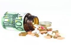 Coût de soins de santé Photographie stock libre de droits