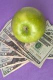 Coût de soins de santé ou de nourriture d'éducation Images stock