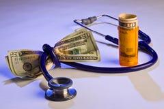 Coût médical élevé Photographie stock libre de droits