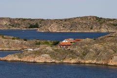 Coût occidental suédois images libres de droits