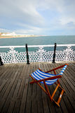 coût R-U du sud de Brighton Photos stock