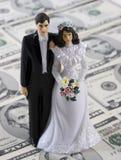 Coûts d'obtention mariés Photographie stock libre de droits