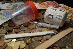 Coûts de soins de santé Photo stock