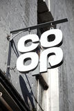 Co操作标志 免版税库存照片