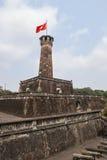 co łóżka polowego flaga Hanoi basztowy Vietnam Fotografia Stock