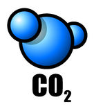 CO 2 Royalty Free Stock Photo