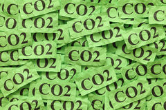CO2 Imagem de Stock Royalty Free