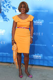 Co-anchor of CBS This Morning Gayle King at the red carpet before US Open 2014 opening night ceremony Stock Images