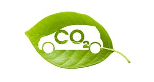 Co 2 car 2 Stock Images
