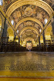 Co-Catedral de San Juan, Valletta, Malta foto de archivo libre de regalías