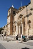 A Co-Catedral de St John em Valletta, Malta Fotografia de Stock Royalty Free