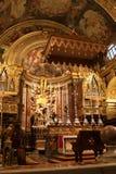 A Co-Catedral de St John em Valletta, Malta Imagem de Stock
