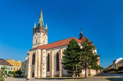 Co-Cathedral of Saint Nicholas in Presov, Slovakia Royalty Free Stock Photo