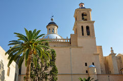 Co-cathedral of San Nicolas, Alicante, Spain Stock Images