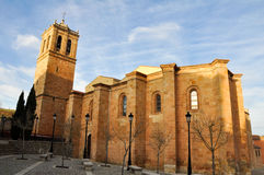 Co-cathedral of San Pedro, Soria (Spain) Stock Image