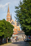 The co-cathedral of St Peter and St Paul in Osijek Royalty Free Stock Image