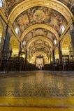 Co-Cattedrale della st John, Valletta, Malta Fotografia Stock Libera da Diritti