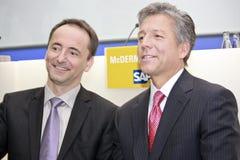Co-CEOs del SAP Fotos de archivo libres de regalías