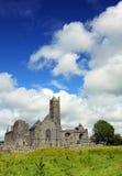 Co. Clare Ierland van de Abdij van Quin Royalty-vrije Stock Afbeeldingen
