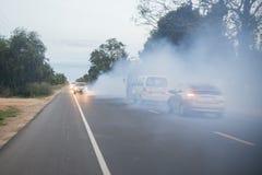 CO2 DELL'AMBIENTE DEL KAMPONG THOM DELLA CAMBOGIA immagini stock libere da diritti