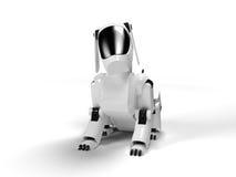 Cão do robô Imagens de Stock Royalty Free