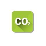 CO2 Emission Environment Pollution Eco Nature Care Web Icon Stock Photo