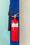 CO2 fire extinguisher Stock Photo