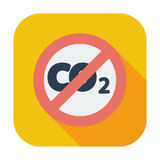 CO2 icon Stock Images