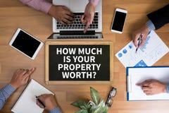 CO JEST TWÓJ MAJĄTKOWYM WORTH? zdjęcia royalty free