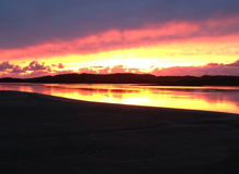 Co Kerry Sunset Fotos de archivo libres de regalías