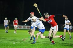 Co-Op Superstores Munster Hurling League 2019 match between Cork and Waterford at Mallow GAA Sports Complex stock photography