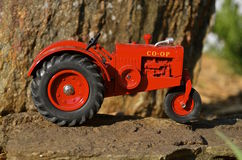 Co-op toy tractor Royalty Free Stock Photography