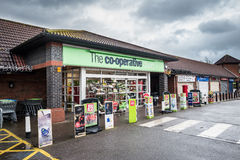 Co-Operative Store Royalty Free Stock Photo