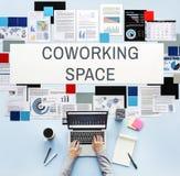 Co pracującej przestrzeni społeczność Zaczyna up pojęcie Zdjęcie Stock