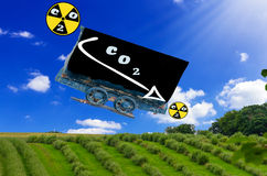 CO 2 Reduction Stock Images