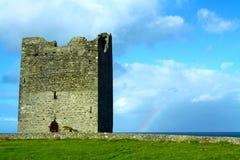 Co. Sligo Ierland van het Kasteel van Easky Stock Afbeelding