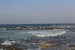 Coût de la mer Méditerranée Photographie stock libre de droits