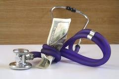 Coût de soins de santé Photographie stock