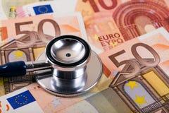 Coût de soins de santé et concept d'assurance photo stock