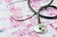 Coûts de soins de santé Photo libre de droits