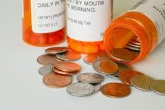 Coûts de soins de santé Image stock