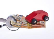 Coûts de voiture Photo stock