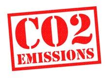 CO2-utsläpp royaltyfri illustrationer