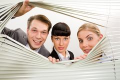 Co-workers in office Stock Photography