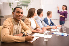 Co-working Royalty Free Stock Image