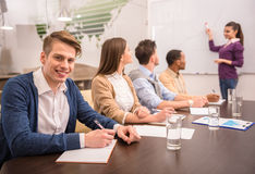 Co-working Royalty Free Stock Photos