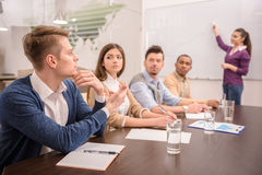 Co-working Royalty Free Stock Images