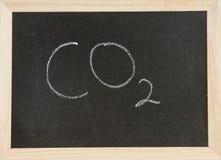 CO2 χαρτονιών Στοκ Φωτογραφίες